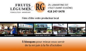Fruits et légumes RG